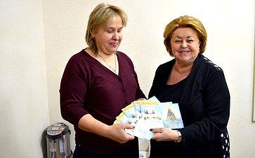 Зинаида Драгункина провела прием граждан вЗеленограде