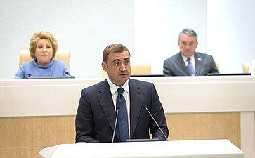 Губернатор Тульской области А. Дюмин