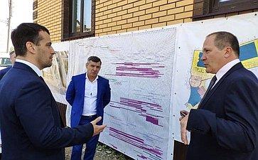 Эдуард Исаков всоставе делегации сенаторов посетил срабочим визитом г. Калугу