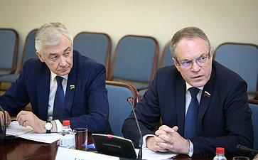 Заседание Комиссии Совета законодателей покоординации законотворческой деятельности