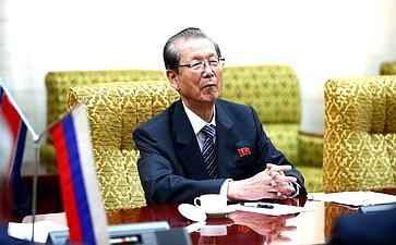 Председатель Верховного Народного Собрания КНДР Цой Тхе Бок