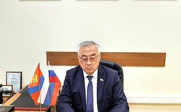 Баир Жамсуев принял участие вонлайн-эстафете Дружбы врамках 100-летнего юбилея содня установления дипломатических отношений между Россией иМонголией