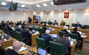 Первое заседание Совета порегиональному здравоохранению при СФ натему «Проблемы иперспективы развития инфраструктуры детского здравоохранения»