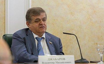 Заседание Комитета общественной поддержки жителей Юго-Востока Украины по вопросам оказания помощи беженцам В. Джабаров