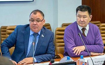 А. Суворов иВ. Мархаев