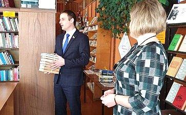 Сергей Леонов посетил сельские библиотеки Починковского района Смоленской области