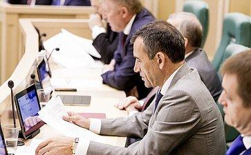 Николай Власенко на 358 заседании Совета Федерации