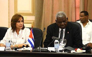 Официальный визит делегации Совета Федерации воглаве сПредседателем СФ В. Матвиенко вРеспублику Куба