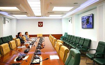 Совещание Комитета СФ поэкономической политике натему «Обобеспечении судоходства нанижнем бьефе Городецких шлюзов нареке Волге»