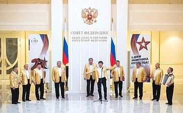 Выступление творческого коллектива Республики Бурятия вСовете Федерации