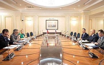 Встреча М. Щетинина спослом Чили