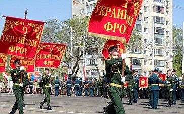 Празднование Дня Победы вБлаговещенске
