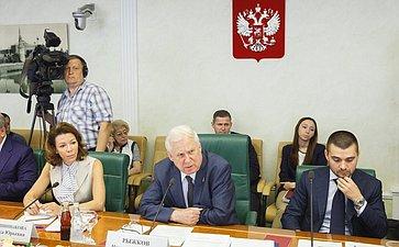Рабочее совещание Комитета общественной поддержки жителей Юго-Востока Украины повопросу оказания помощи беженцам