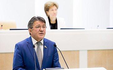 376-е заседание Совета Федерации Озеров