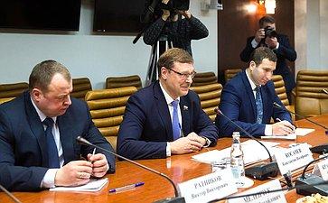 Встреча К. Косачева сПрезидентом ПМР