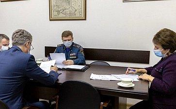 Екатерина Алтабаева провела рабочую встречу сруководителями севастопольских подразделений органов принудительного исполнения, государственной противопожарной службы МЧС итаможенных органов РФ