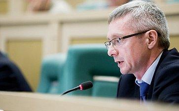 376-е заседание Совета Федерации. Казаковцев