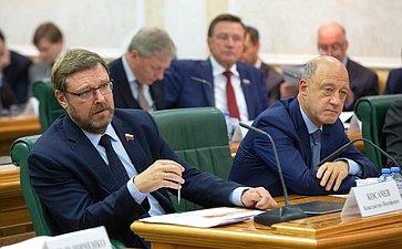 Константин Косачев иАлександр Бабаков