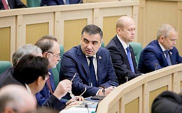 374-е заседание Совета Федерации Хацаев