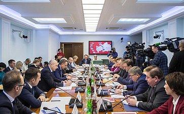 Заседание Временной комиссии по вопросам подготовки и проведения в 2018 году чемпионата мира по футболу