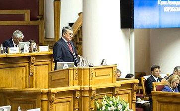 Заместитель Председателя СФ Юрий Воробьев