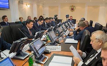 Заседание Комитета СФ по Регламенту и организации парламентской деятельности
