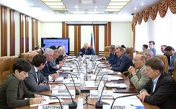 Заседание Комитета СФ ипофедеративному устройству, региональной политике, местному самоуправлению иделам Севера