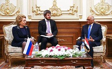 Официальный визит делегации Совета Федерации вАрабскую Республику Египет