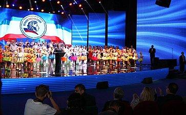 В. Матвиенко выступила сречью наторжественном открытии XI Международного фестиваля «Великое русское слово»