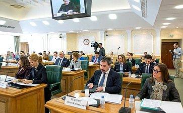 Заседание Совета поразвитию социальных инноваций субъектов Российской Федерации натему «Инфраструктура поддержки социальных инноваций»