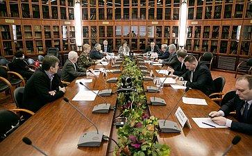 Заседание Экспертно-консультативного совета полесному комплексу