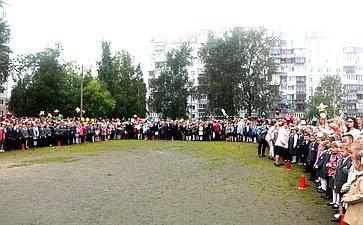 Виктор Павленко посетил школу №45 г. Архангельска