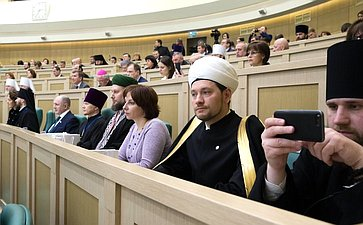 VI Рождественские парламентские встречи натему «Нравственные ценности ибудущее человечества»