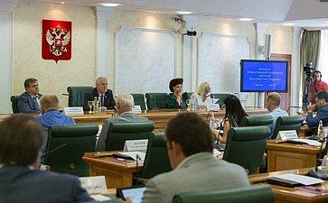 Заседание Комитета общественной поддержки жителей Юго-Востока Украины по вопросам оказания помощи беженцам