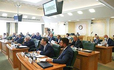 Совместное заседание Комитета СФ помеждународным делам, Комитета СФ поэкономической политике, Комитета СФ поаграрно-продовольственной политике иприродопользованию