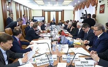 Заседание Комитета пофедеративному устройству, региональной политике, местному самоуправлению иделам Севера сучастием представителей органов власти Ставропольского края