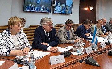 Видеоконференция парламентских групп посотрудничеству Совета Федерации иСената Аргентинской Республики