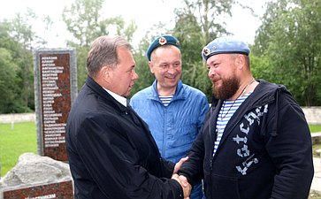 Виктор Павленко поздравил десантников сДнем Воздушно-десантных войск