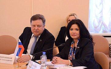 О.Белоконь приняла участие взаседании постоянной комиссии МПА СНГ повопросам обороны ибезопасности