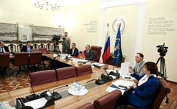 Заседание Совета делового сотрудничества торгово-промышленных палат России иБеларуси