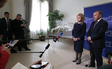 В. Матвиенко иврио главы Республики Адыгея В. Матвиенко обсудила сМ.Кумпилов