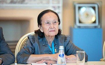 К. Косачев провел встречу спредседателем Комитета Сената Королевства Камбоджа повнешним связям, международному сотрудничеству, пропаганде иинформации