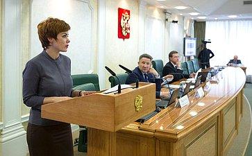 Начальник департамента финансов, экономики иимущественных отношений Чукотского АО А.Калинова