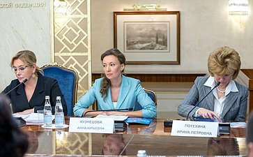 Арина Шарапова, Анна Кузнецова иИрина Потехина