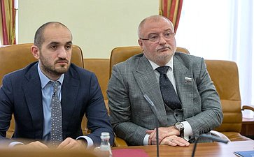 Встреча смеждународный арбитром, профессором вобласти международного публичного права М. Ивковичем