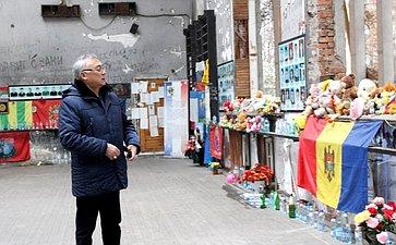 Баир Жамсуев иВячеслав Мархаев посетили Северную Осетию