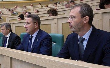 Руководители Чукотского автономного округа А. Маслов иР. Копин