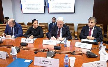 Заседание Временной комиссии СФ поинформационной политике ивзаимодействию соСМИ