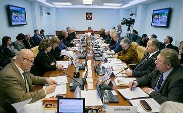 Расширенное заседание Комитет Совета Федерации понауке, образованию икультуре сучастием представителей Оренбургской области