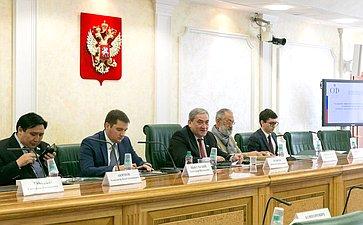 Заседание Совета поАрктике при Совете Федерации